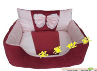 Wholesale New pink princess nest super soft dog kennel pet beds cat litter cat sleeping bags dog pad pet supplies