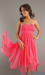 Buy Organza Hot Pink Bridesmaid Dresses Online from Low Cost Hot ...