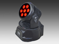 Wholesale W IN1 RGBW MINI LED Moving Head Light Wash Light American DJ Light