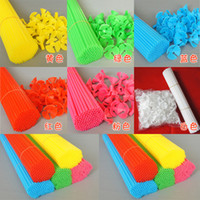 Wholesale Balloon accessories red towbar creative side of sales promotion drag and rod set thick sets