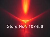 Wholesale 100pcs mm flashing Red LED mcd mm blinking red
