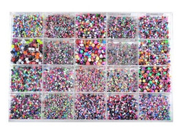 Wholesale Body Jewelry Piercing Eyebrow Navel Belly Tongue Lip Bar Ring Style BA01 BA21