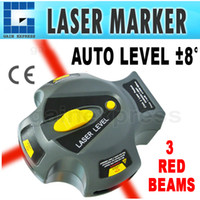 Wholesale CK Mini Portable Auto Self Level Class II Laser Marker Beam Line Plumb Tool Pin Fix Automatic Leveling degree
