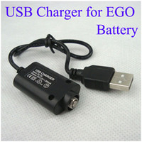 Wholesale DC V EGO USB Charger for EGO T EGO C EGO W EGO VV EGO LCD batteries USB charger CE4 CE5 CE7 Battery