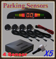 Wholesale 5PCS Car LED Reversing Parking Sensors Sensor Kit Colours Sensor RW CE01