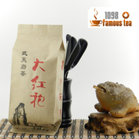 Wholesale quot AAA quot g Wuyi DaHongPao Wulong Tea With Kraft Paper Sacks Big Red Robe Spring Tie