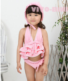 Wholesale children garments girls bathing suit baby girl bikini infant beachwear child swimsuit baby swimsuit