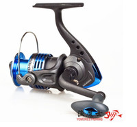 5.0:1 6BB front drag spinning reel Free shipping Md4000 Fishing Tackle Fishing Reel Spinning Reel 6BB 5.0:1