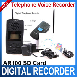 Wholesale Analog Digital PBX Telephone Line Voice Phone Call Recorder System Record Calls AR