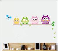 ebay - Retail Xmas gift owl the tree ebay wall stickers children room decoration piece