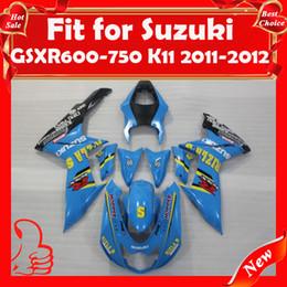 Wholesale Fairings Kit for SUZUKI GSXR600 K11 GSX R GSXR GSXR ABS Fairing EMS Freeship