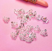 Wholesale The latest best selling models Crown nail jewelry nail stickers nail alloy diamond jewelry