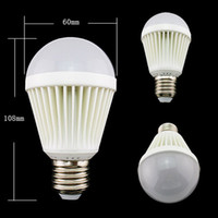 Wholesale E27 W LED Lamp Bulb White Warm Light Super Bright Energy Saving AC110V V