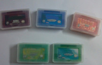 Wholesale by DHL Brand New for GBA games emerald fire red ruby sapphire save file Shinny label original label