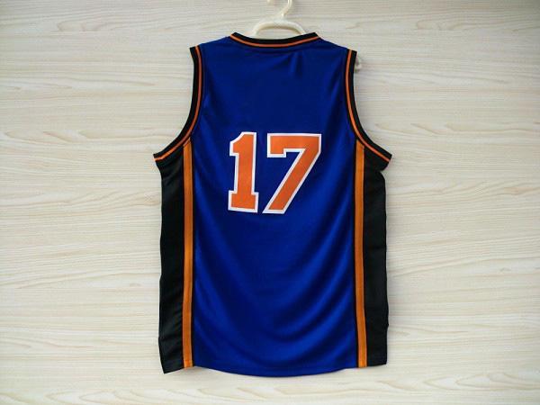 American Kids Basketball Jerseys Cheap Jerseys 17# Blue Sports Shirts