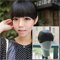 Wholesale New Hot sale Generous Unique One Piece Fashion Hair Extension Fringe Hair Bang