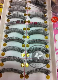 Wholesale Eyelashes Pair Thick Long False Eyelashes Eyelash Eye Lashes Voluminous Makeup