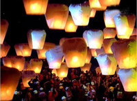 Christmas   Hot sale Sky Lanterns,Wishing Lantern fire balloon Chinese Kongming lantern Wishing Lamp