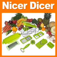 Wholesale Multi Chopper Fruit Slicer Vegetable Salad Grater Nicer Dicer Shredder Plus