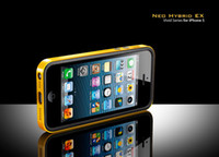 Wholesale Spigen SGP Neo Hybrid EX Vivid Snow Series Anti shock Frame Bumper case for iphone G