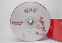 Wholesale DHL Printable Recordable Blank Discs DVDR Disc Disk DVD R DVD R GB
