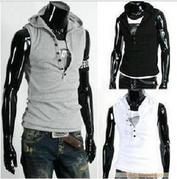 Wholesale Mens Jacket Hoodie Sweatshirt Sweats Sleeveless jacket vest T01