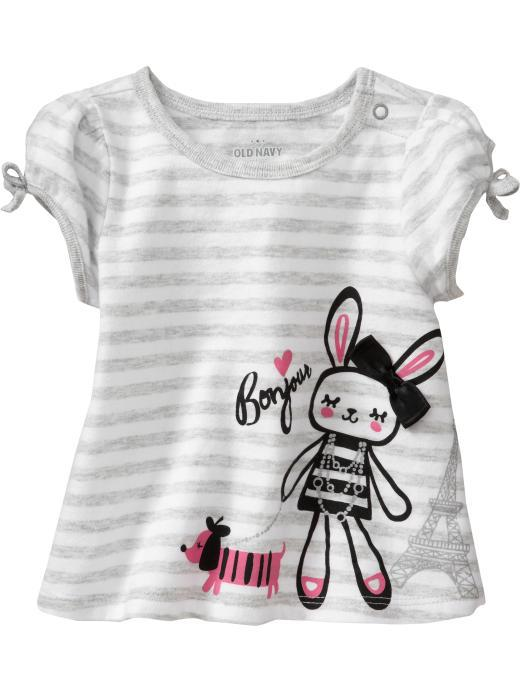 Baby Tees Girls' Fashion T-shirts Striped Tank Tops Boy Sleeveless ...
