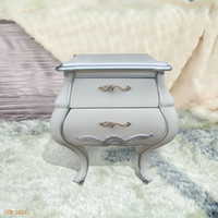 Wholesale White quality pumping bedside cabinet bedside cabinet fashion new classical furniture bedroom furniture