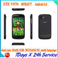 """ZTE 4.3 Android 100% original ZTE V970 4.3"""" IPS touch screen Android4.1.1 WIFI GPS CPU MTK65771024GHz RAM:1GB ROM:4GB"""