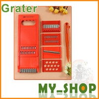 Wholesale 7 sets of multi function peeler Slicer Grater