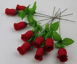"200pcs 25cm 9.84"" Artificial Simulation Camellia Rose Flower one stems Bush Flower head Wedding decorations"