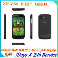 ZTE 4.3 Android ZTE V970 Grand X Smart Phone 4.3 Inch IPS QHD Screen MTK6577 Dual Core 1G RAM 3G GPS multi language