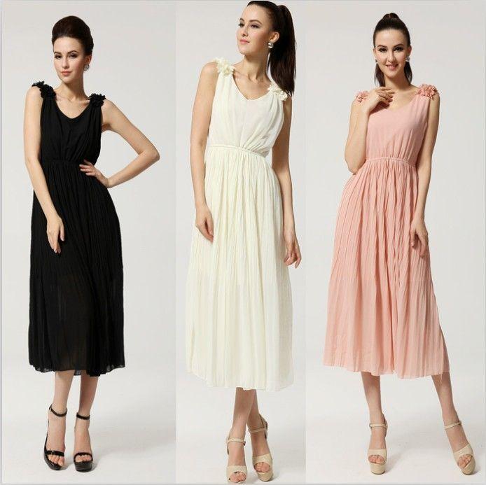 tea length casual summer dresses | Gommap Blog
