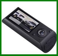 Wholesale Camera Recorder dual lens camera with P inch GPS logger Vehicle car DVR car camer X3000 dropship