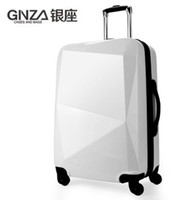 Wholesale The Ginza genuine diamond cutting trolley suitcase luggage check in luggage caster special inch tide