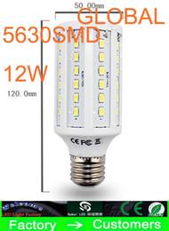 Cheap 5 Piece Led Light Led corn Light 15W E27 Led bulb E14 B22 5630 SMD 60 LED 1800LM Warm cool White Light Bulbs 110V - 130V 220V - 240V