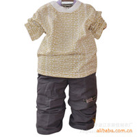 3T-4T Boy Spring / Autumn 2012 Korean boy leisure suit children suit three-piece out clothes suit NTZ-032