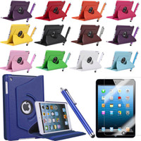 Silicon asus kit - Mix order link for iPad mini Tpu PU Leather Case Smart Cover Screen Protector Stylus Pen camera connection kit bluetooth keyboard