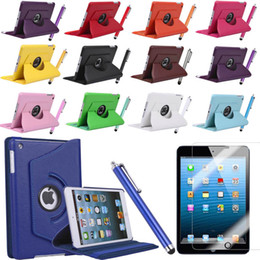 Wholesale Mix order link for iPad mini Tpu PU Leather Case Smart Cover Screen Protector Stylus Pen camera connection kit bluetooth keyboard