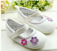 Wholesale 10 off White with flower toddler shoes First Walker Shoes shoes sale toddler shoes china shoes pairs