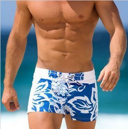 Wholesale 2013 new arrival hot selling men s beach shorts swimwear sexy beach pants color BLUE size S XL