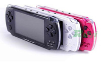 Wholesale PSP Digital TFT Game Video Radio FM TV OUT MP3 MP4 Built in Dual Speaker With TF Card Slot Mega