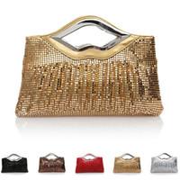 Wholesale 5PC clutchbag evening banquet wedding handbag purse sequine RHBB Beauty Paradise blingbling new arrival promotion fashion bags