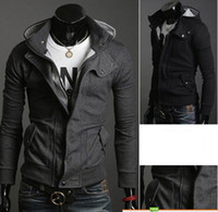 Wholesale 2013 Brand New HOT Han Edition Men s Clothes Men s Casual Cardigan Take Cap Sweate