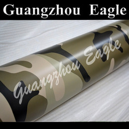 Wholesale Desert style Camo Camouflage Vinyl Wrap Print Film Sticker for car full body vehicle decoration stickers With Air Free Bubbles meter roll