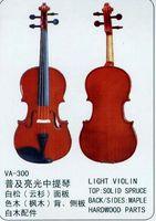 Wholesale String Music Instrument Common Grade light Viola VA Solid Spruce Flamed Maple Hardwood Parts