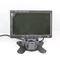 Wholesale Newest TFT LCD Touch keys Headrest Stand Color Car Monitor Rearview K201