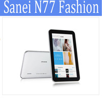Wholesale Sanei N77 Fashion Android Tablet PC quot Capacitive Screen CPU AllWinner A13 RAM M ROM GB Android Persell
