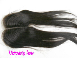 Wholesale New Arrival Fashion Inch Middle Part Lace Closure Indian Remy Human Hair Lace Front Closure