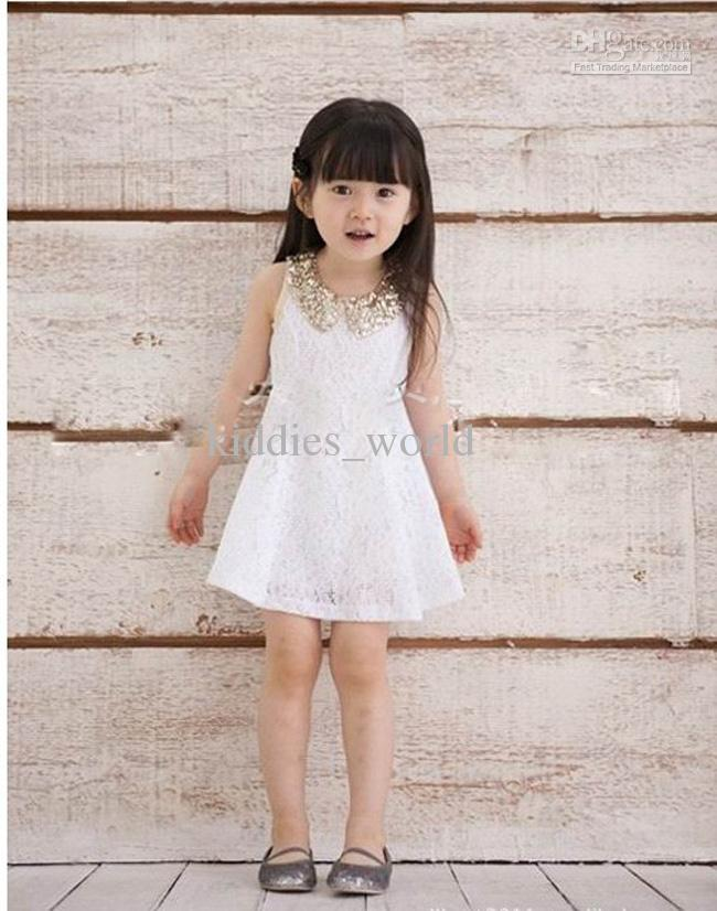 White Lace Dresses For Girls White Dress For Girl Lace